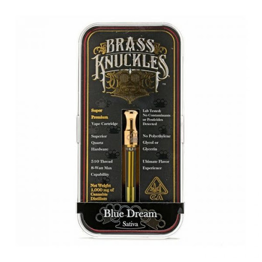 Jack Herer Brass Knuckles Vape Cartridge