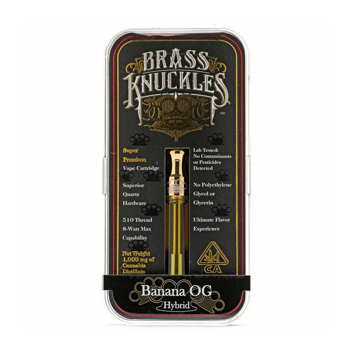 Banana OG Brass Knuckles Vape Cartridge